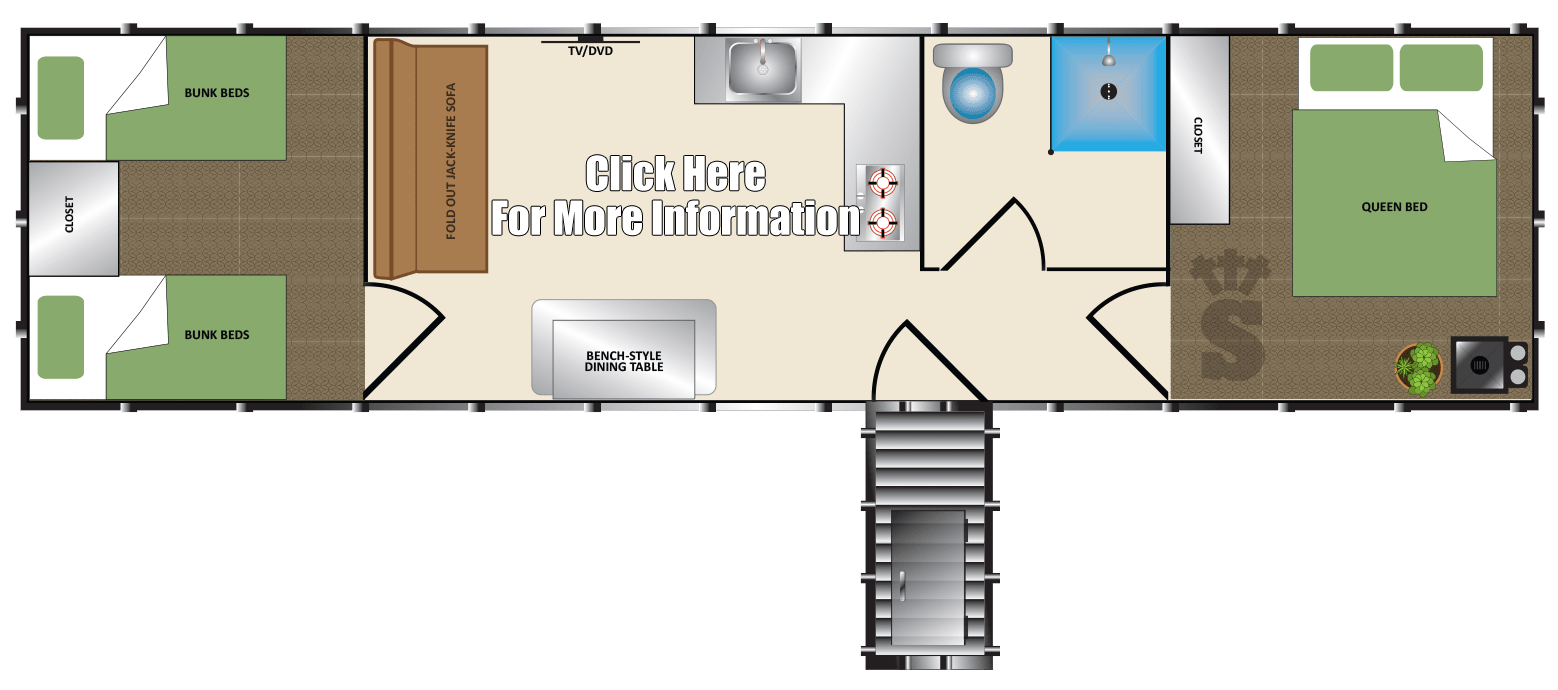 Survival Shelter Upgraded Model 10x40