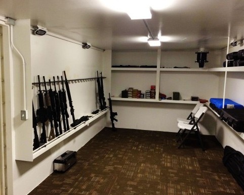 Underground Vaults Are Custom Built To Order And They Can Be Engineered You Exact Specifications These Gun Have All The Shelving