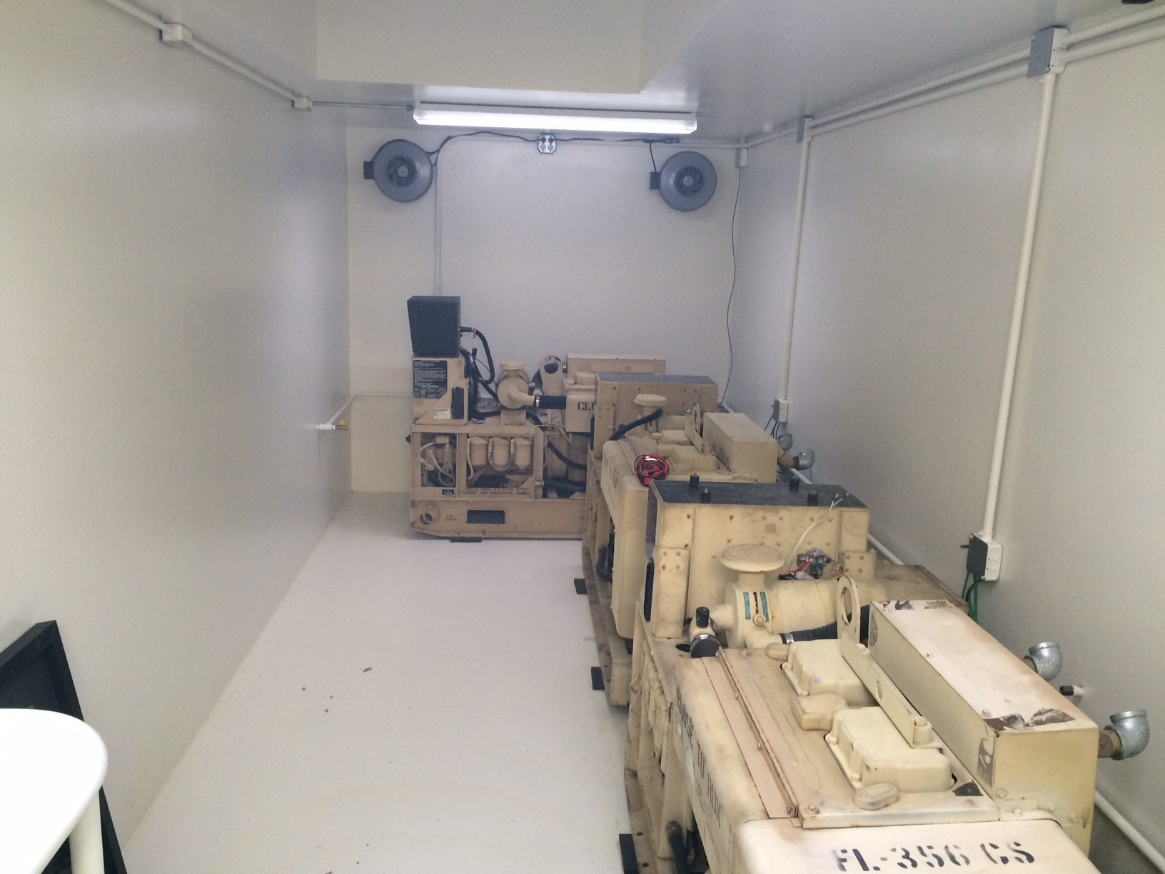 Generator rooms with exhaust venting rising s company for Room layout maker