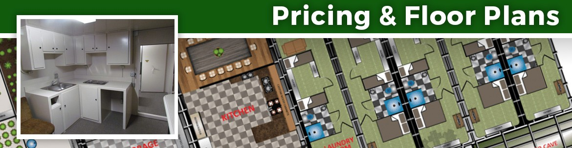 Bunker & Bomb Shelter Pricing and Floor Plans
