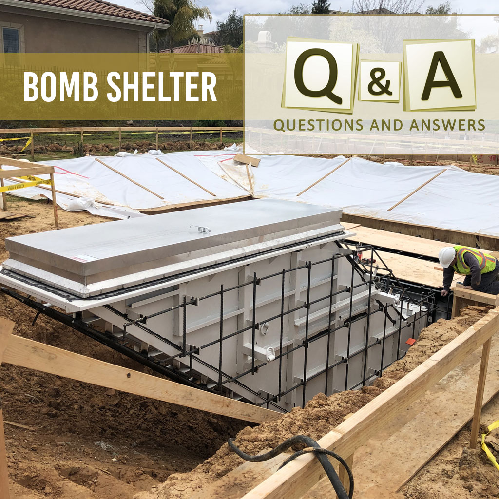 Bomb Shelter Questions Answered