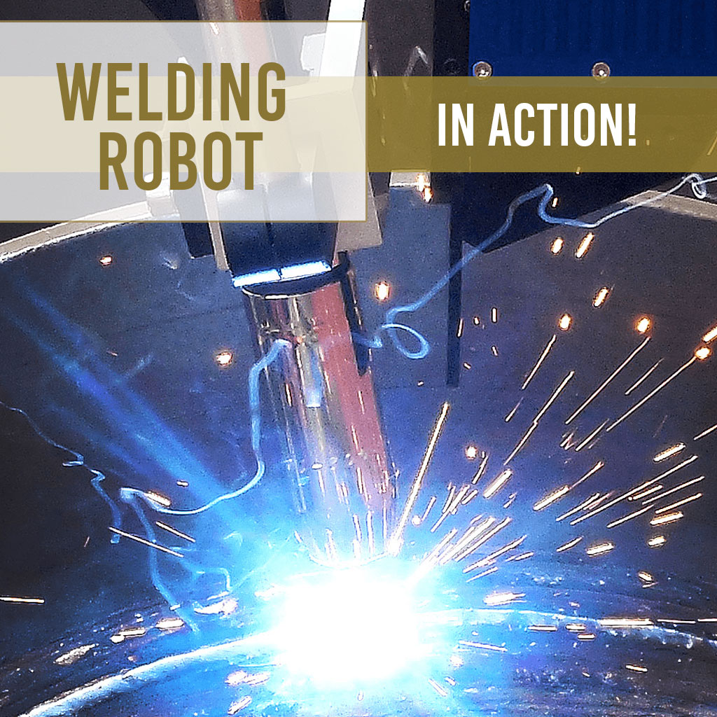 A Rising S Company Welding Robot In Action!